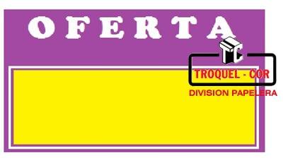 Cartel para precios con oferta super grande 324 for Piscina estructural grande oferta precio