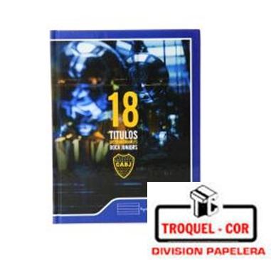 Cuaderno Escolar Tapa Dura 48 Hojas Boca Juniors