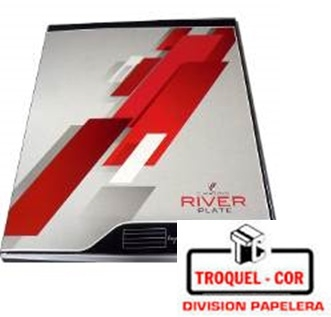 Cuaderno Escolar Tapa Dura 48 Hojas River Plate