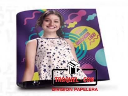 Carpera Escolar 3x40 Cartone Soy Luna Ppr