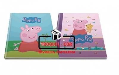 Cuaderno Escolar Tapa Dura 50 Hojas Peppa Pig
