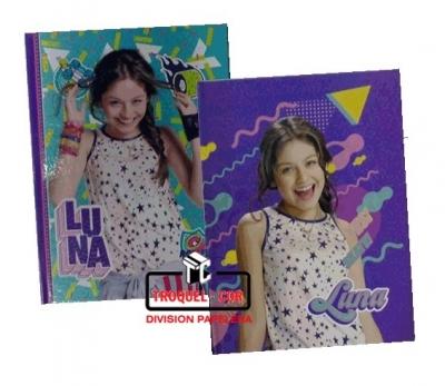 Cuaderno Escolar Tapa Dura 50 Hojas Soy Luna