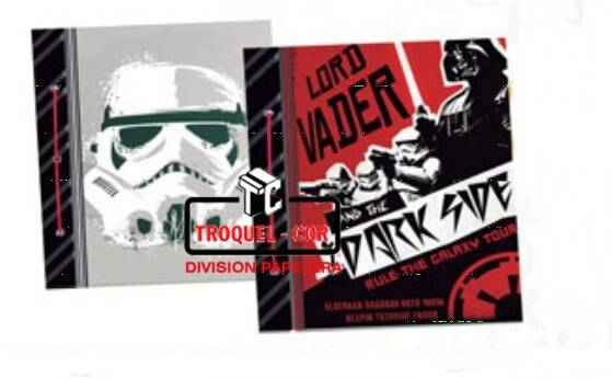 Carpeta De Dibujo Nº3 Cartone Star Wars