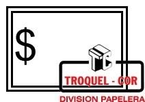 Cartel Para Precios Con Marco Y $ 1333