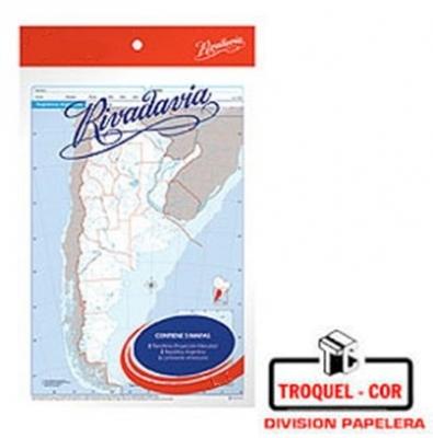 Mapa Político Nº6 Republica Argentina