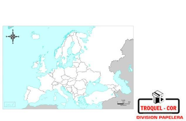 Mapa Político Nº6 Europa