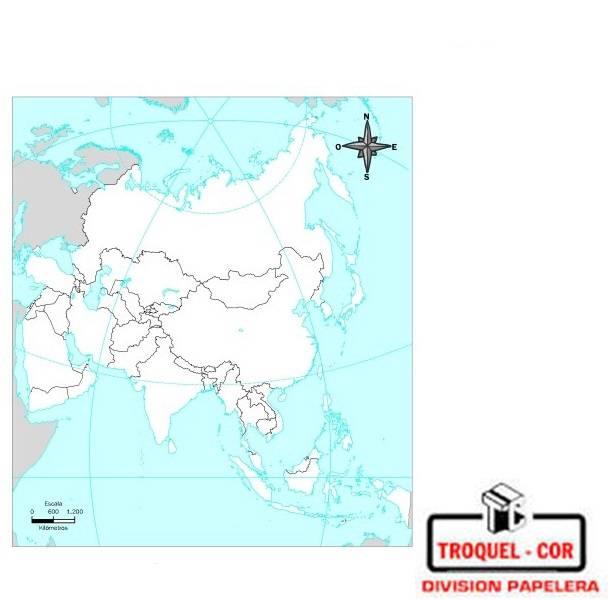 Mapa Político Nº3 Asia