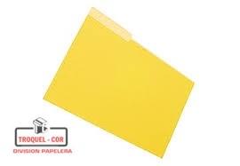 Carpeta Interior Oficio Nepaco Amarillo X 25 Ud.