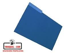 Carpeta Interior Oficio Nepaco Azul X 25 Ud.