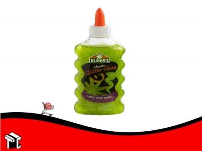 Adhesivo Elmer's Glitter Verde
