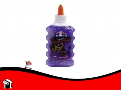 Adhesivo Elmer's Glitter Purpura