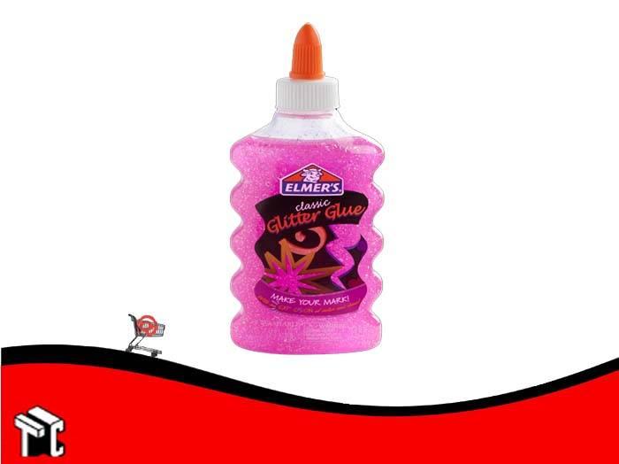 Adhesivo Elmer's Glitter Rosa