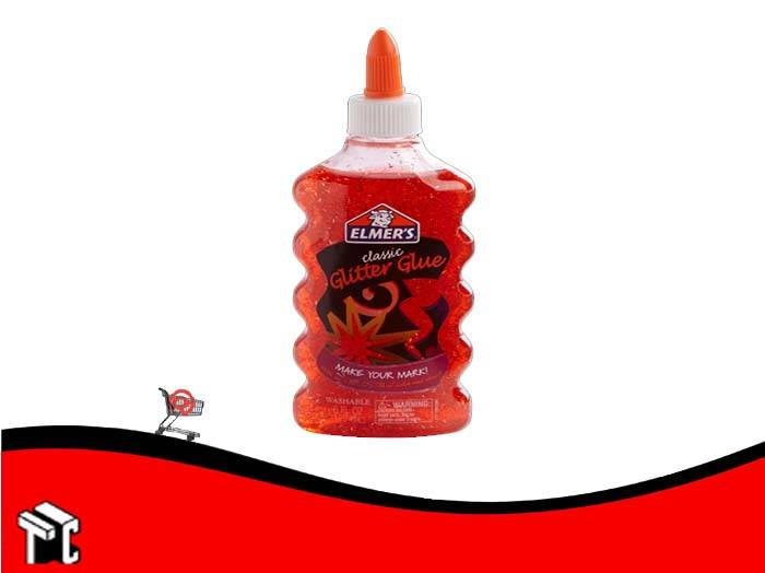 Adhesivo Elmer's Glitter Rojo
