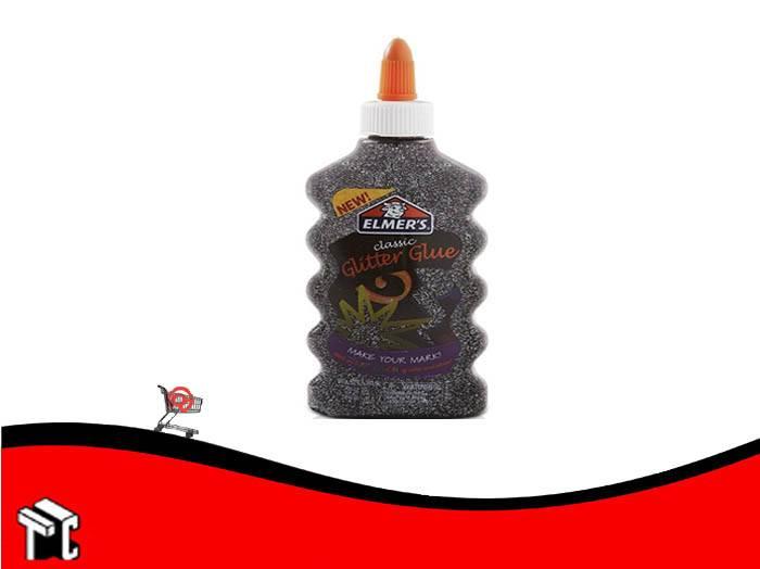 Adhesivo Elmer's Glitter Negro