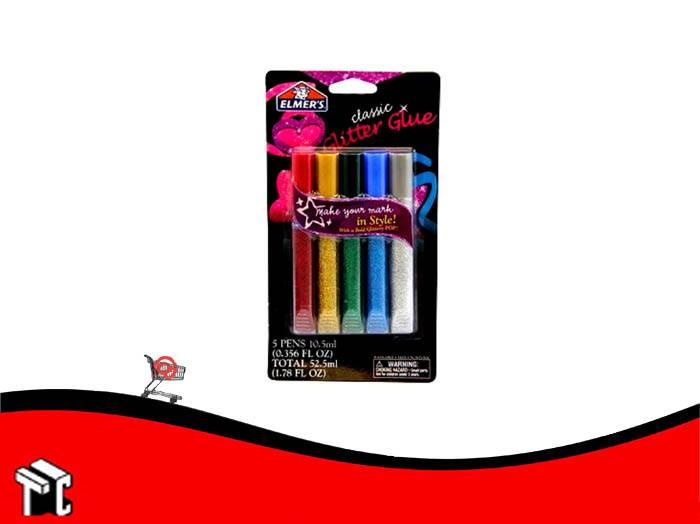 Adhesivo Elmer's Classic Glitter X 5 Unidades