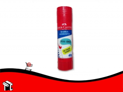Adhesivo En Barra Faber Castell × 40 Gramos