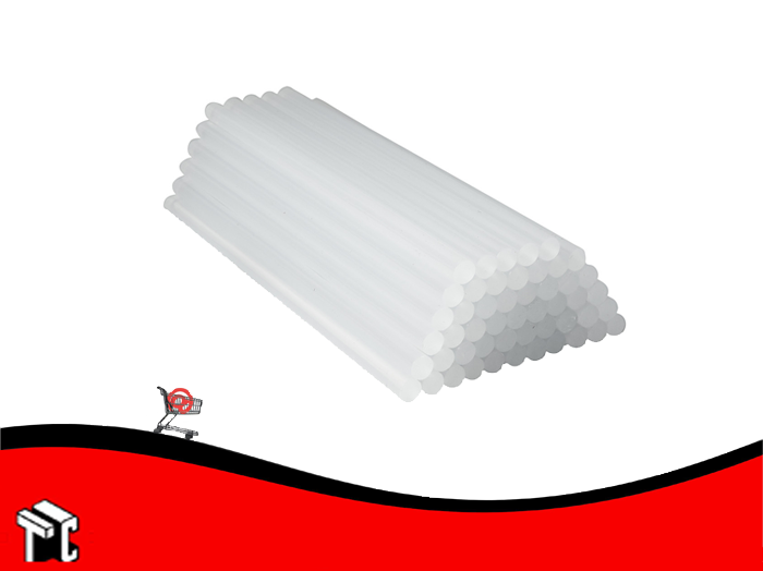 Barra Adhesiva Ultra Transparente Gruesa X 10 Unidades