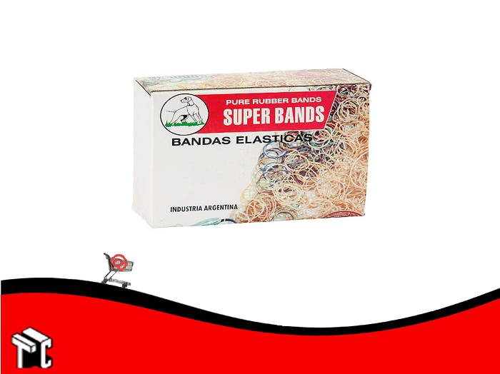 Banda Superbands N.º 100 X 5 X 500 G En Caja