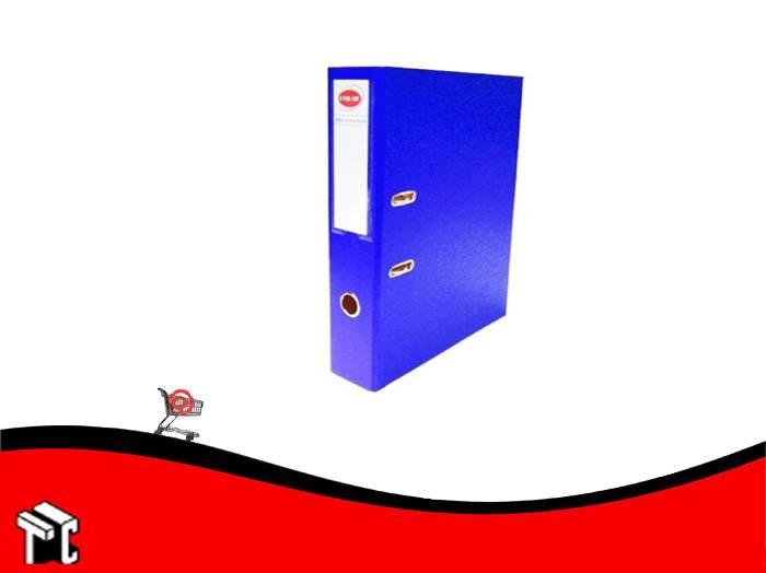 Bibliorato Oficio Forrado Plastico Util-of Azul