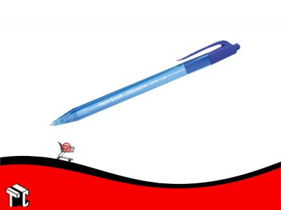 Bolígrafo Retráctil Paper Mate Inkjoy 100 Rt Azul