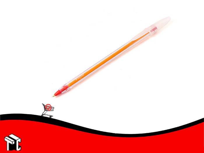Boligrafo Bic Cristal Precisión Rojo X Ud.