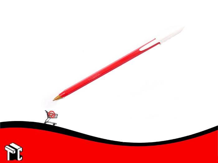 Boligrafo Bic Opaco Dura+ Rojo X Ud.