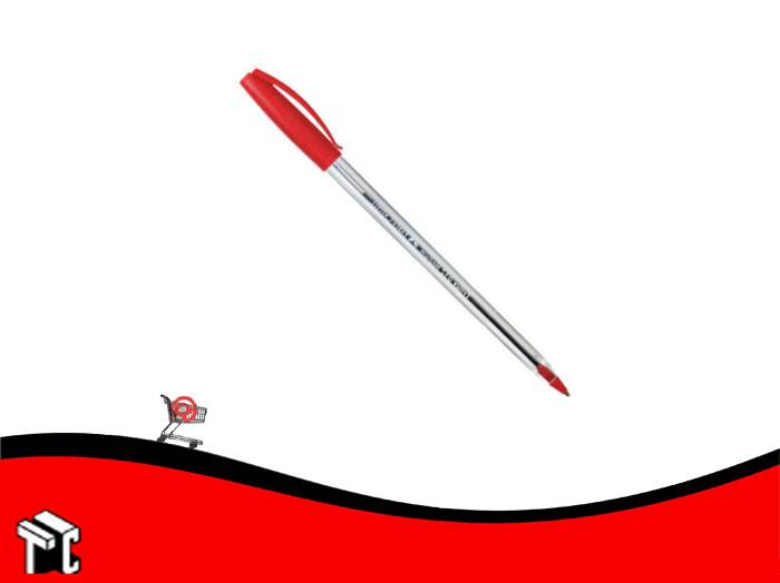 Boligrafo Faber Castell Trilux Name 032 Medium Rojo