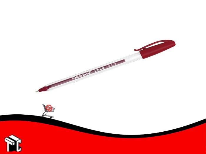 Bolígrafo Paper Mate 100 St Rojo