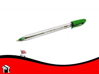 Bolígrafo Paper Mate 100 St Verde
