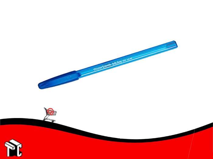 Bolígrafo Paper Mate 100 St Fino Azul