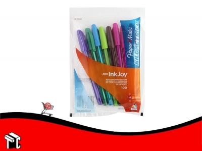 Bolígrafo Paper Mate St100 X 8 Colores