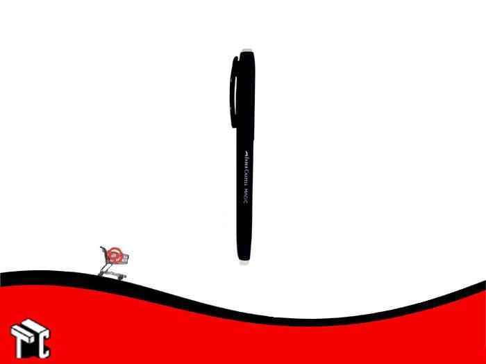 Roller Borrable Faber Castell Tinta Negra Cuerpo Negro