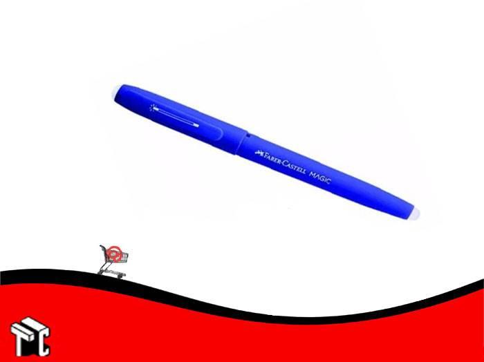 Roller Borrable Faber Castell Tinta Azul