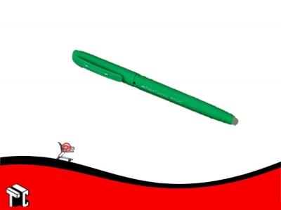 Roller Borrable Faber Castell Tinta Azul Cuerpo Verde