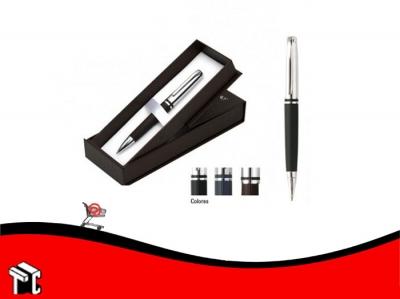 Bolígrafo Micro Vip Yabebirí Con Estuche