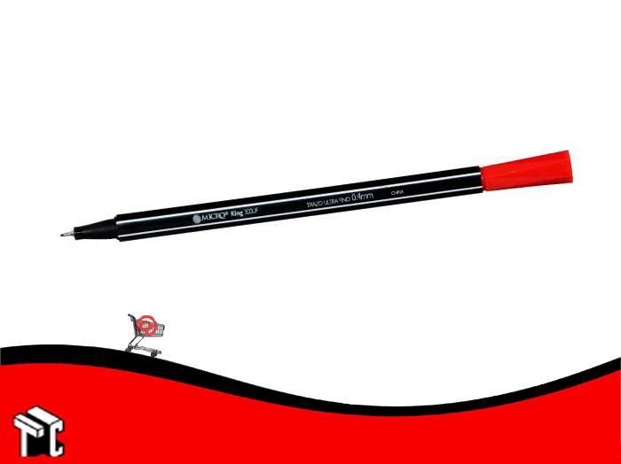 Microfibra Al Agua Micro King 300 Rojo