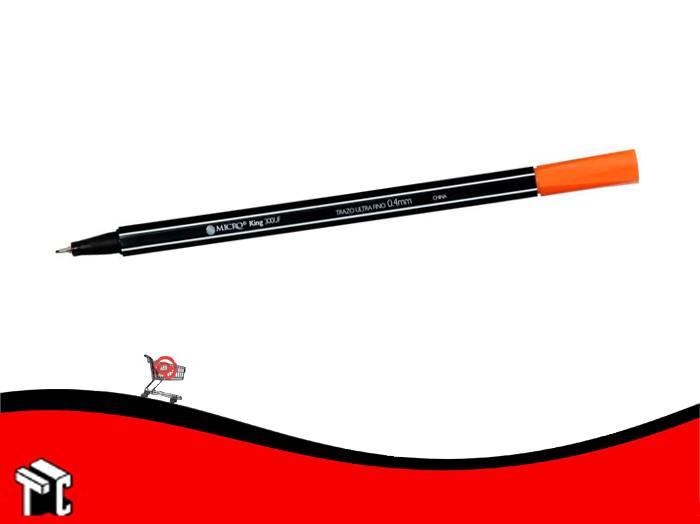Microfibra Al Agua Micro King 300 Naranja
