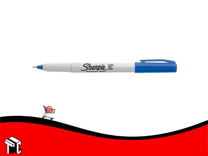 Marcador Permanente Sharpie Ultra Fino Azul