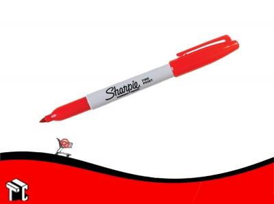 Marcador Permanente Sharpie Fino Rojo