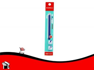 Repuesto Roller Gel Genio 2g Teen Azul