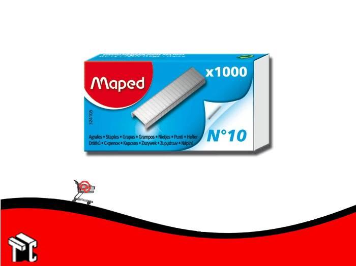 Broche Maped Nº10 X 1000 Ud.