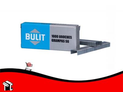 Broches Grampas Bulit S6 X 1000