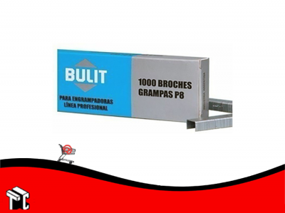 Broches Grampas Bulit S8 X 1000