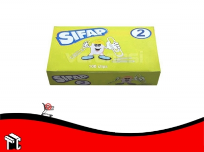 Broches Clips Sifap N°2 X 100