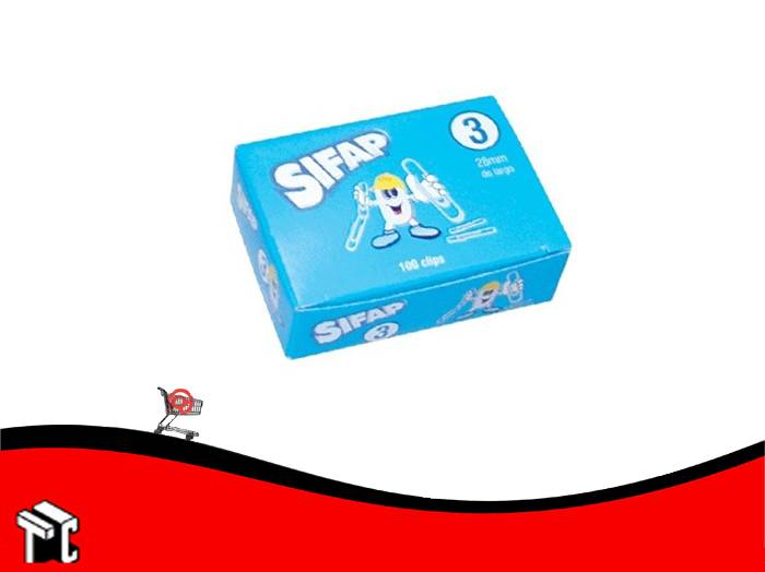 Broches Clips Sifap N°3 X 100