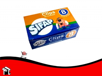 Broches Clips Sifap N°8 X 50