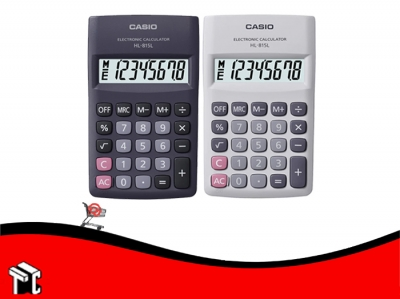 Calculadora Casio Hl-815l 8 Dígitos