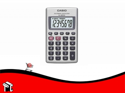 Calculadora Casio Hl-820va 8 Dígitos