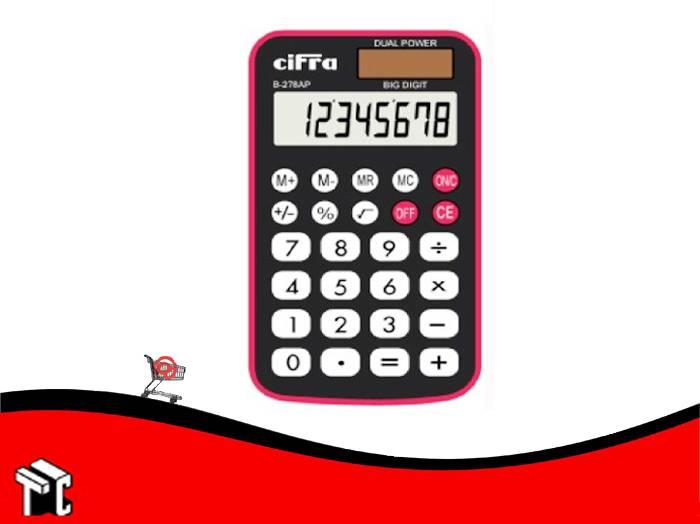 Calculadora Cifra B278ap 8 Digitos