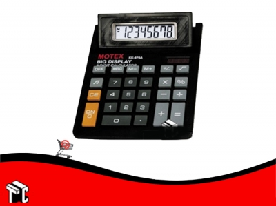 Calculadora Motex Kk-676a 8 Dígitos